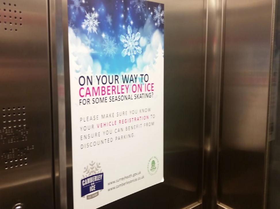 5 Examples of Indoor Mall Advertising - Elevators