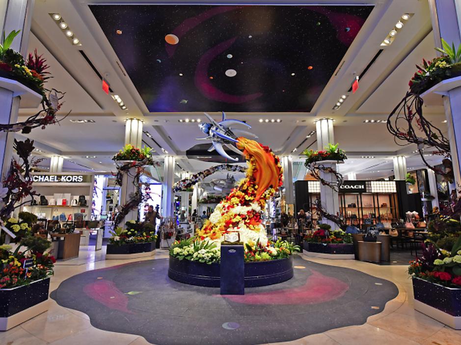 Add A Seasonal Splash To Your Shopping Mall Landscape