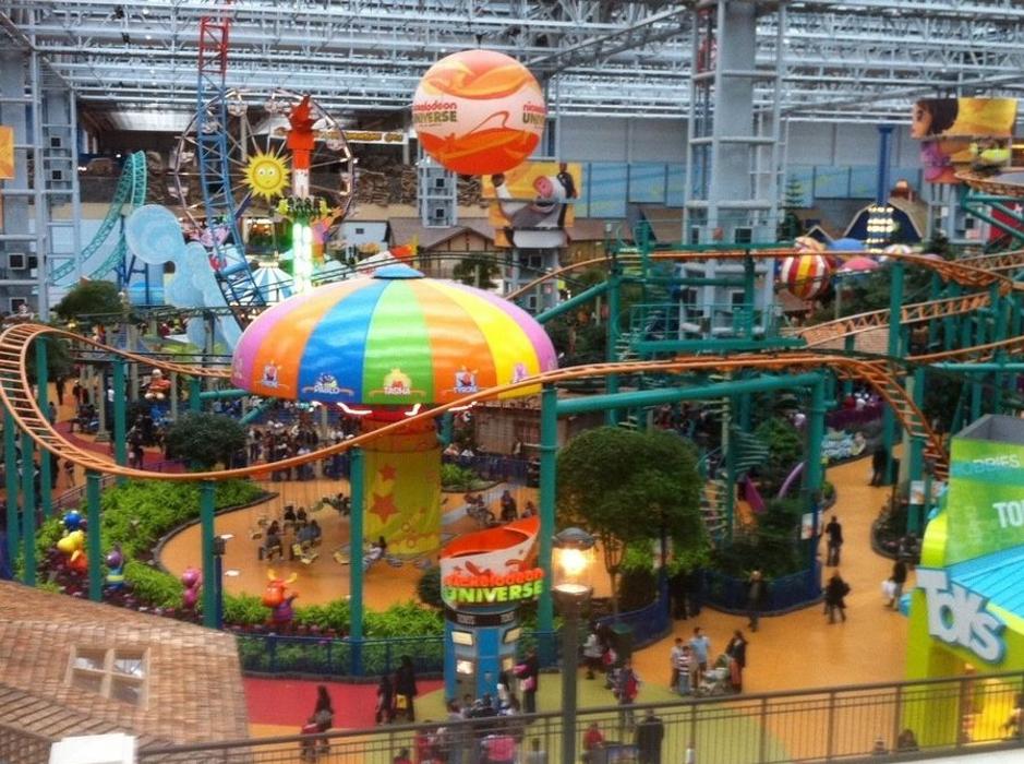 Create Amusement Parks