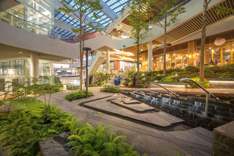 Landscape Shopping Mall Design