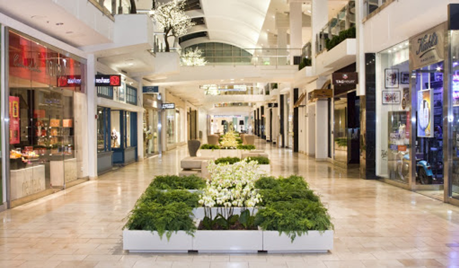 Shopping Mall Landscape Strategic Layout