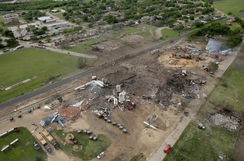 West Fertilizer Company Explosion
